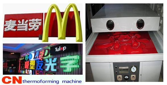 acrylic vacuum forming machines
