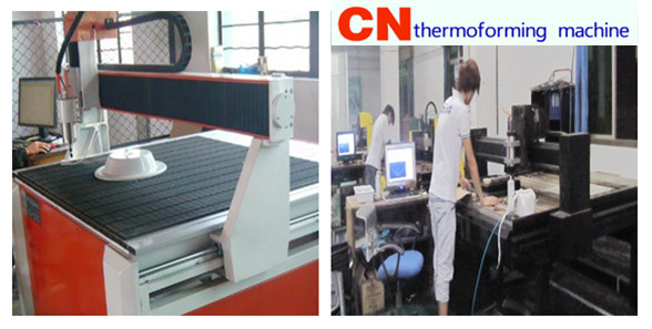 application of Milling plotter in thermoforming industry