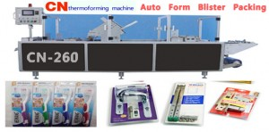 Automatic forming and blister sealing machines