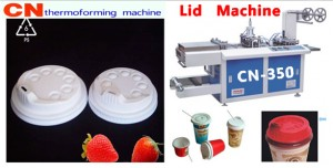plastic cup lid making machines