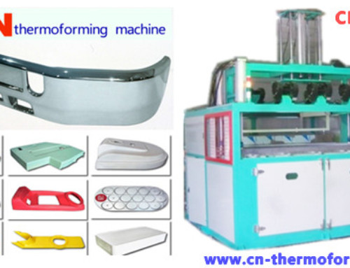 Thick Gauge Thermoforming Machines