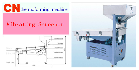 Linear Vibrating Screener Machine
