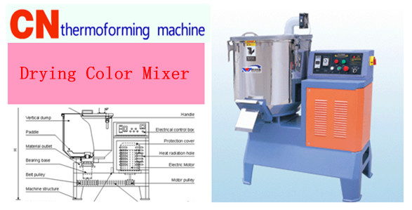 High speed Drying Color Mixer