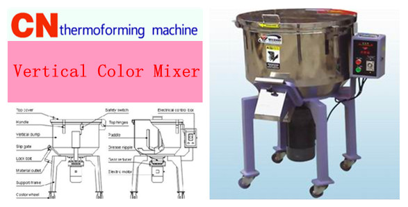 vertical color mixer supplier From China