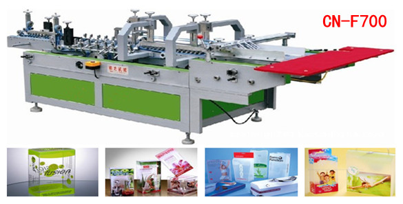 plastic box folding machine