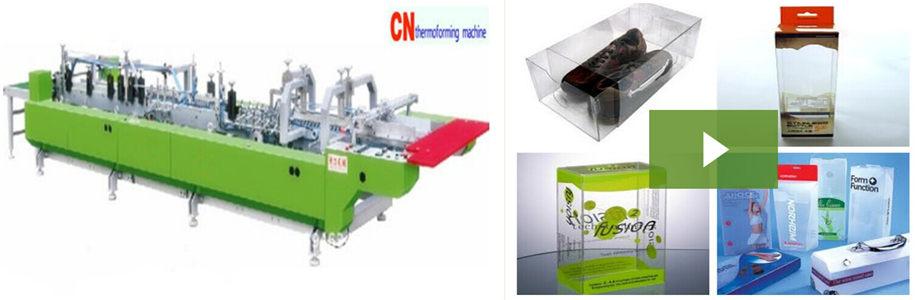 PVC,PP,PET Plastic Box Machine
