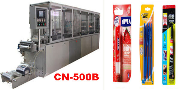 blister card packaging machine