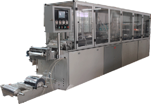 CN-500A blister machines